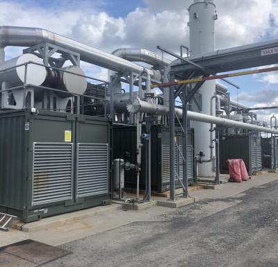 Drehid   Generator Bank   Jenbacher 420